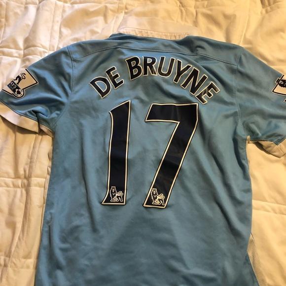 buy popular b7e1f 52159 Men's Nike Manchester City Kevin De Bruyne Jersey